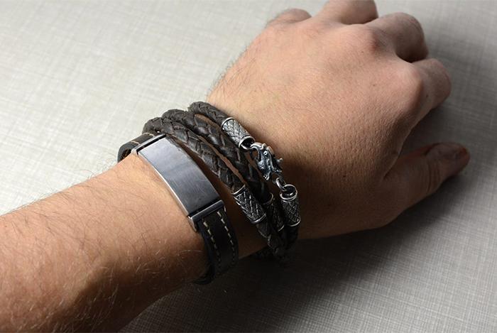 мужские браслеты на руку 31 фото из золота или серебра