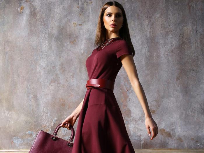 Цвет марсала в одежде: как сочетать