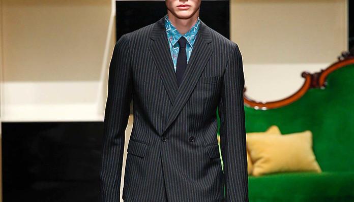 a7b4872c5a68f Мужской костюм в полоску, секреты идеального образа