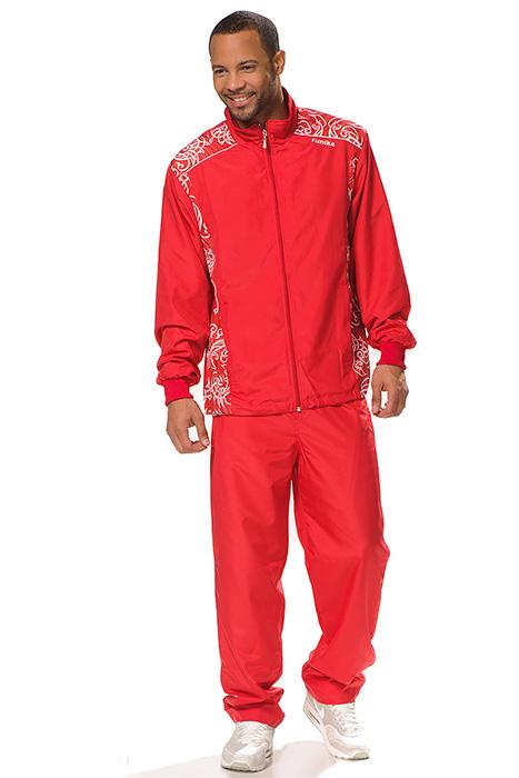 2246db094fe Красный мужской спортивный костюм (37 фото): от фирмы Nike, Adidas ...