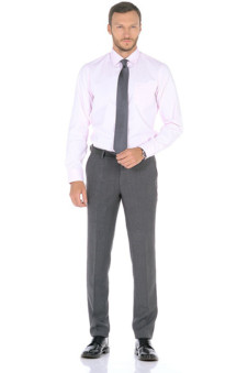 c29e6609f8c Классические мужские брюки (63 фото): зауженные, широкие или модели ...