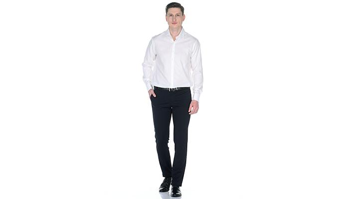 С какой обувью носить узкие мужские брюки
