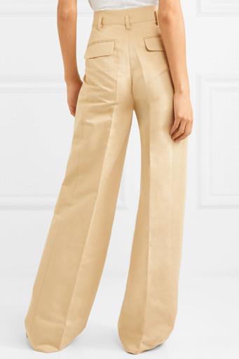 С чем носить льняные брюки? | 512x341