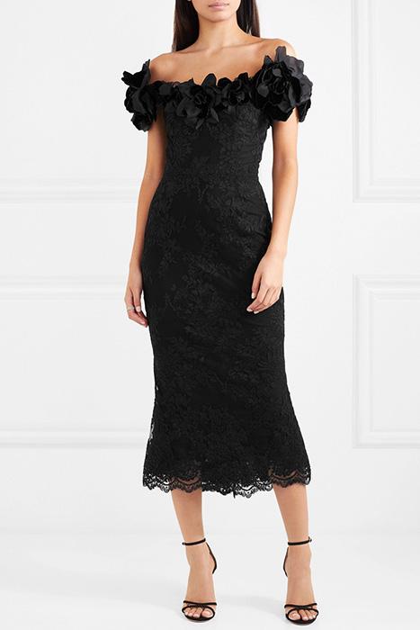 Кружевное платье короткое с открытой спиной