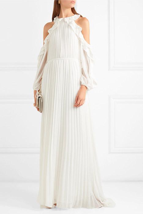 6fdd226cd27 Платья с открытыми плечами (68 фото)  вечерние или свадебные модели ...