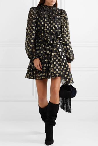 С какими туфлями одеть черное платье
