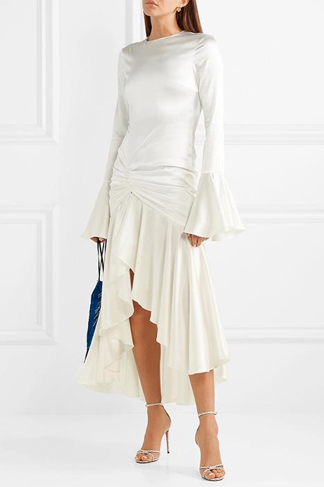 04a847c0ca0 Фасоны платьев из шелка (70 фото)  повседневные