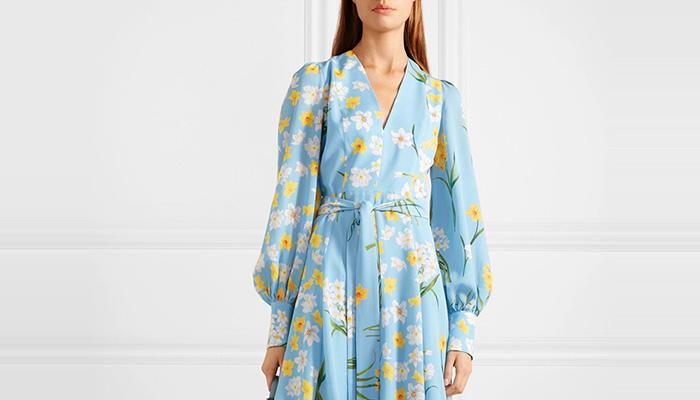 Стильные платья с длинным рукавом