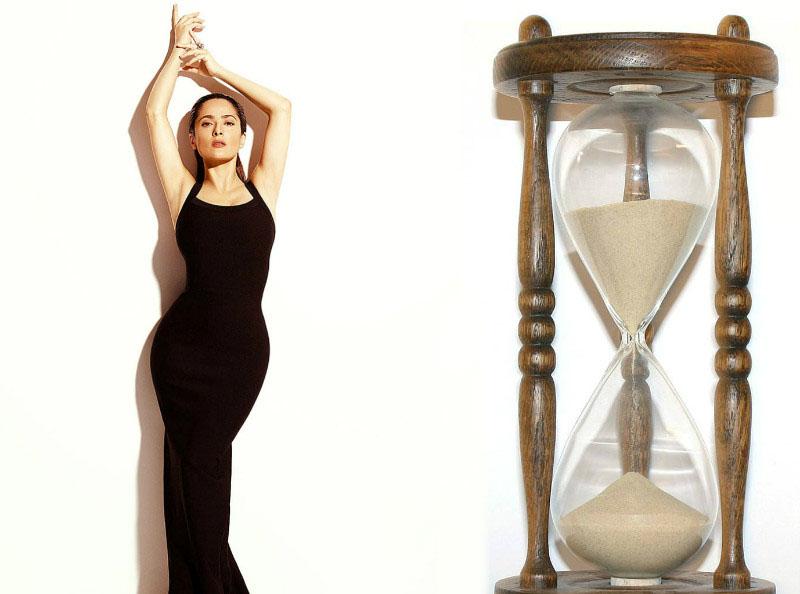 Подбираем гардероб на фигуру песочные часы (110 фото)