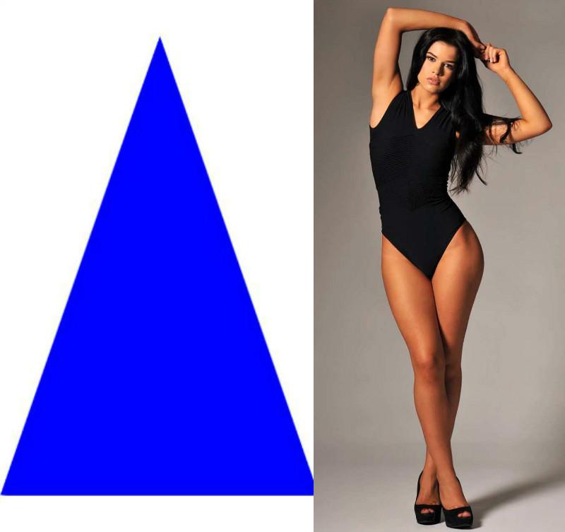 вырезана женский треугольник фото пошиве силуэтного платья