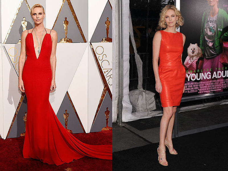 Сочетание красного цвета в одежде и макияже thumbnail